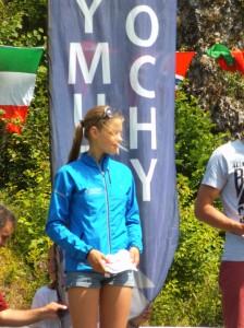 Marta Murawska na podium