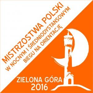 logo mistrzostwa polski bieg na orientacje zielona góra 2016 (2)