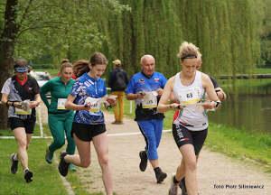 start sprintu- Milena Miś złoty medal
